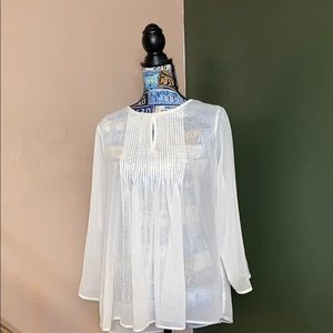 Women's large old navy see through blouse